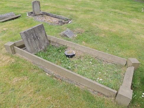 Gunner Peter Stubbs headstone