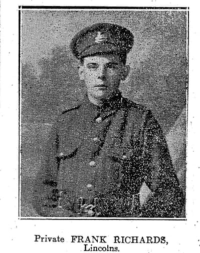 Private Frank Richards
