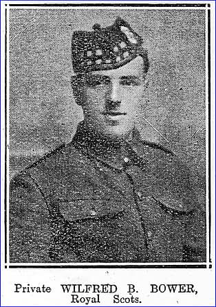 Private Wilfred Basil Bower
